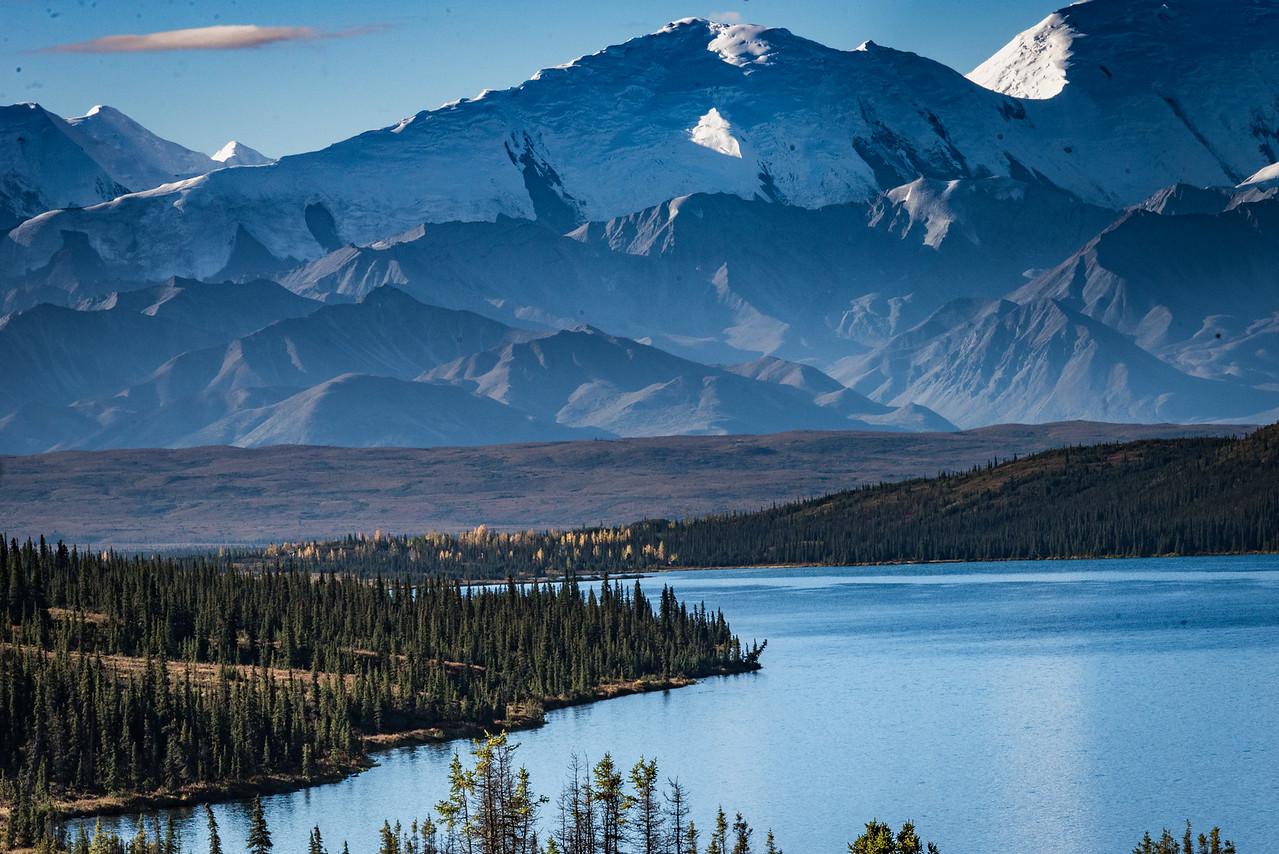 Wonder Lake with Denali