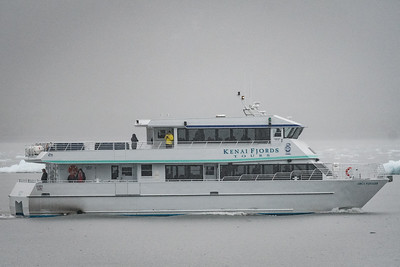 Typical Boat Used for Day Cruises at Kenai Fjords