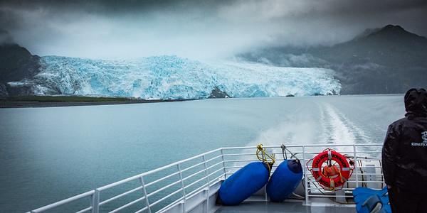 Leaving the Glacier