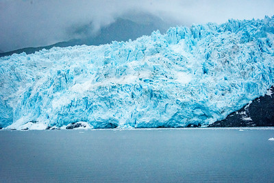 The Blue of the Glacier is Due to the Ice Being So Compressed