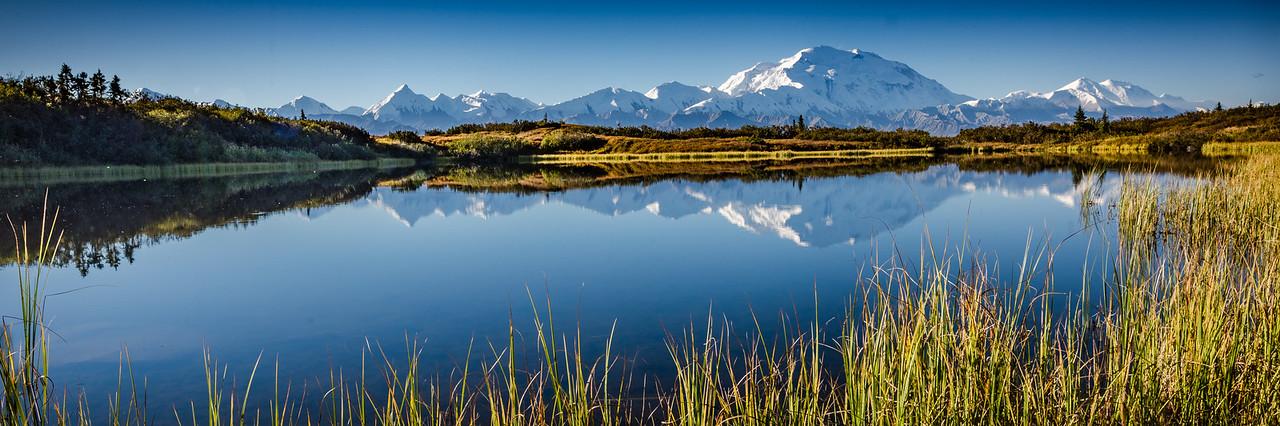 Denali as Seen From Reflection Lake