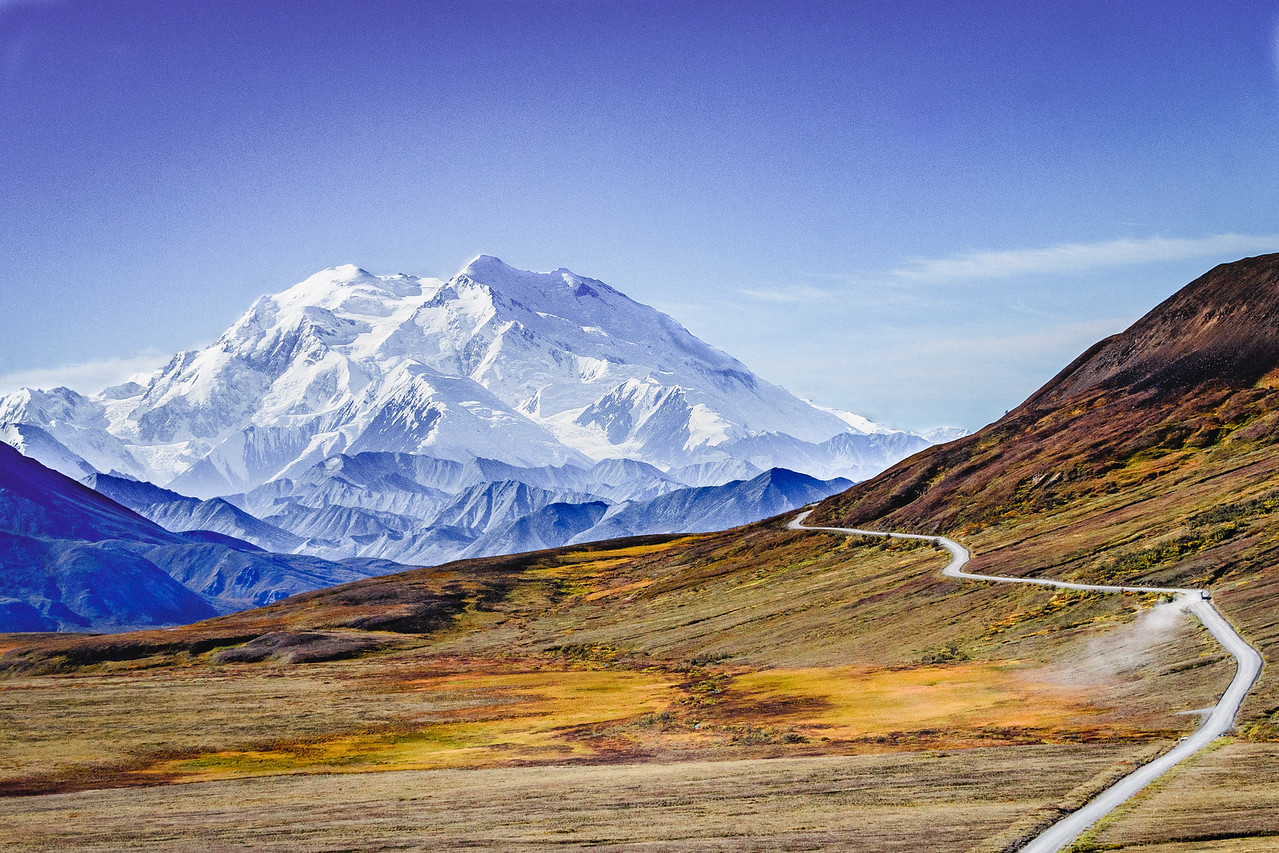 Denali from Highway Pass (Color)