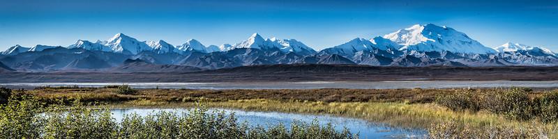 Alaska Range, Denali National Park Panorama
