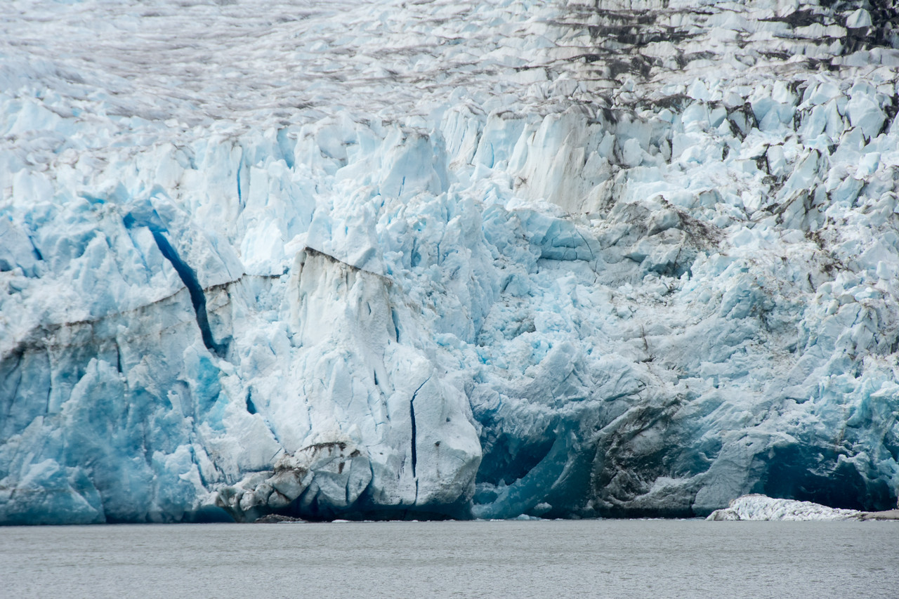 North Sawyer glacier.  Tracy arm, Alaska.  2017
