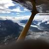 Flying over Chugach Mountain range-10,500'