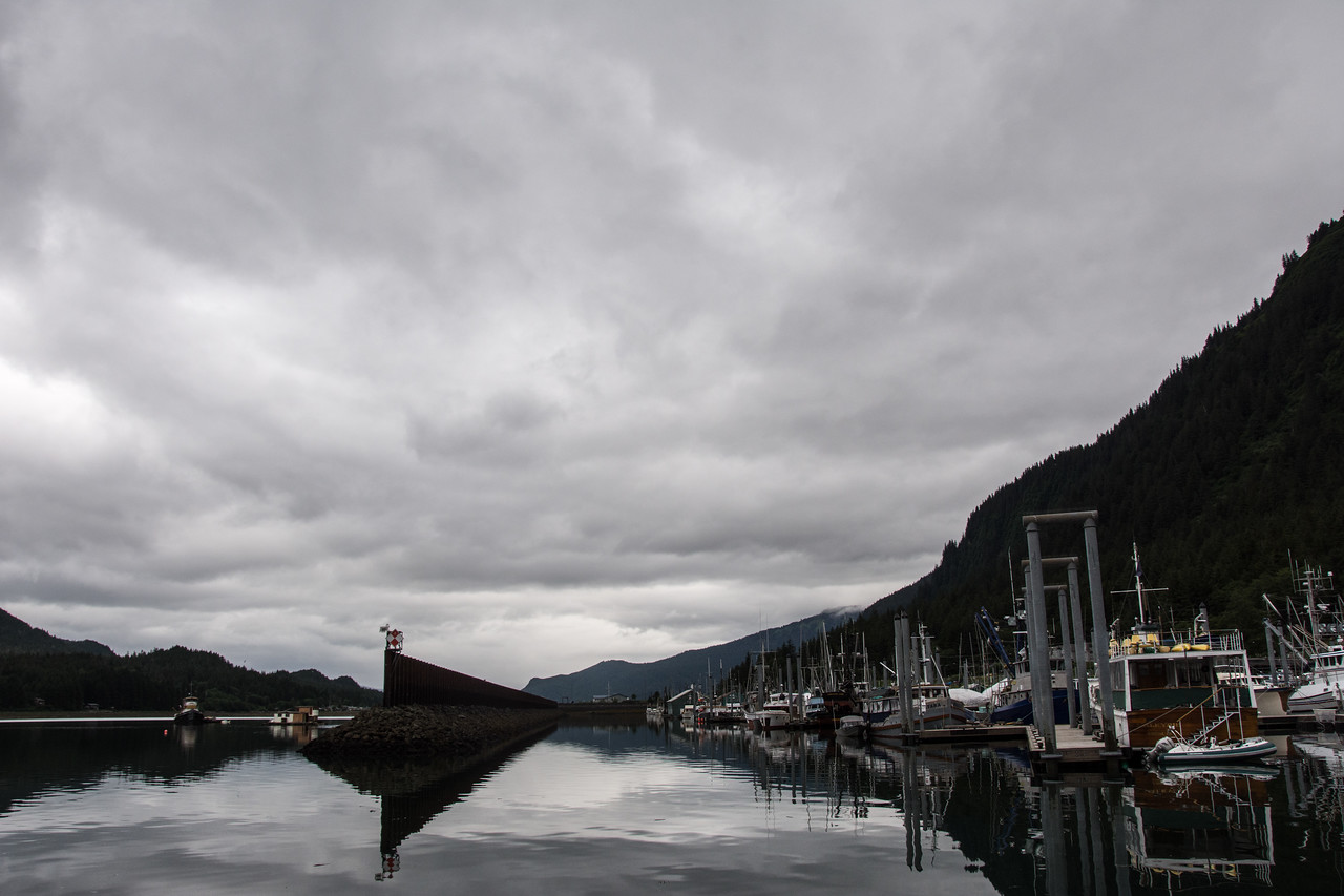 Juneau harbor, Alaska.  2017