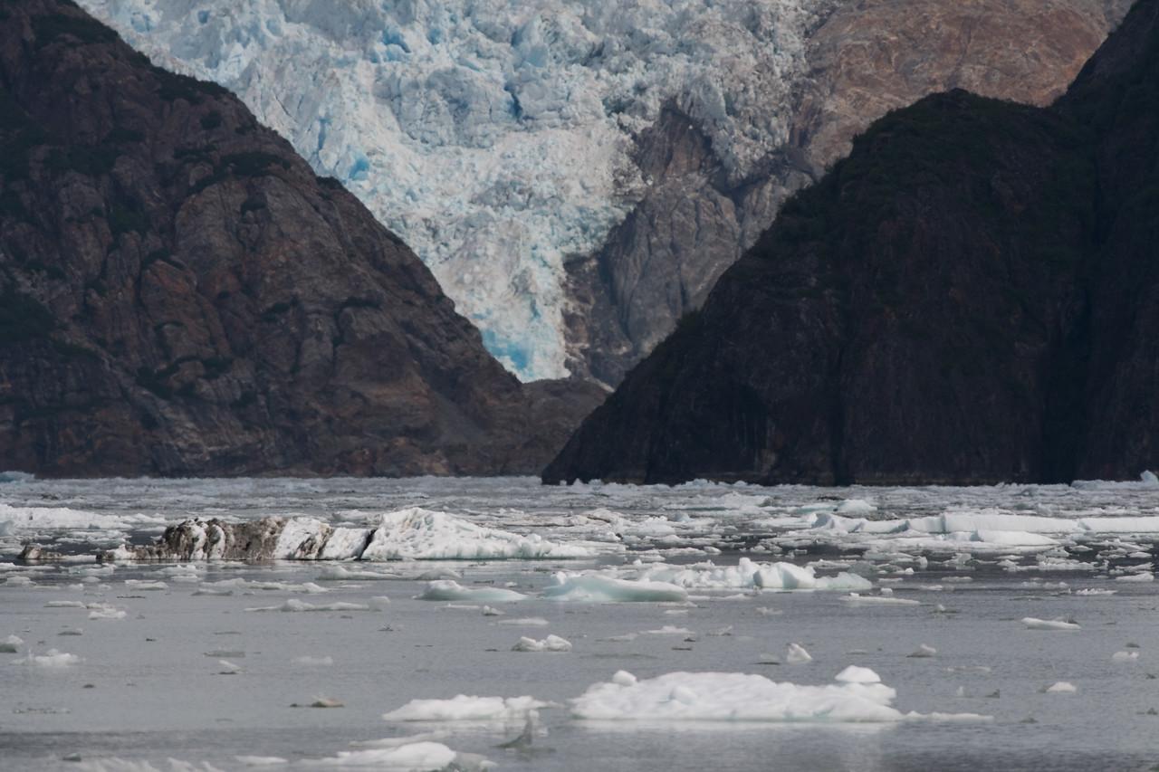 Sawyer glacier.  Tracy arm, alaska.  2017