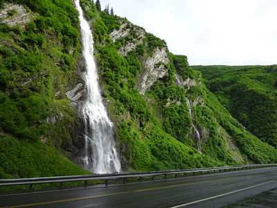 Water, water everywhere.  The area around Valdez is a temperate rain forest.