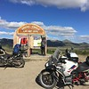 Arctic Circle on The Dempster Highway