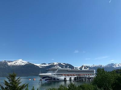 Grand Princess at Haines, Alaska