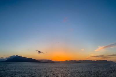 Day's End Near Haines, Alaska