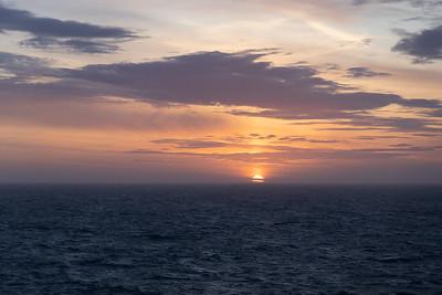 Somewhere in the Gulf of Alaska