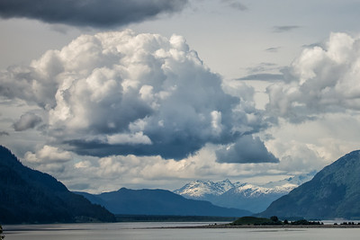 Dramatic weather on the Chilkat