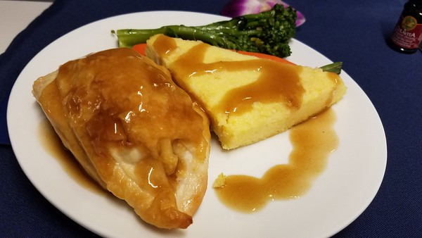 Alaska Airlines meals/aircraft