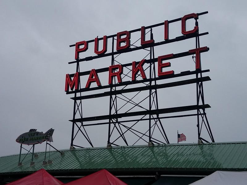 PIKE STREET MARKET- SEATTLE, WASHINGTON