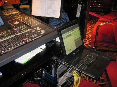 Main Theatre Sound Control System.