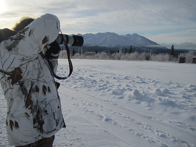 Carol in the Yukon!