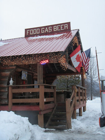A great place to eat in the middle of no where! 33 Mile Restaurant.