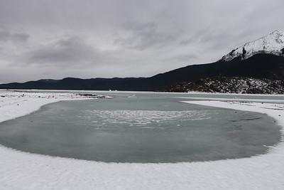 Lake at Mendenhall Glacier