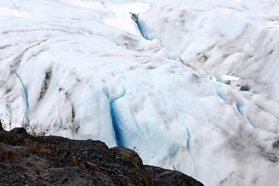 Exit Glacier in Seward Alaska.