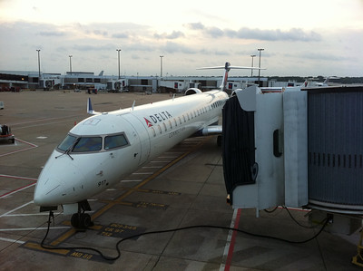 Memphis, TN airport begins our journey.