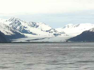 Bear Glacier, part of the Harding Ice Field in Kenai Fjords National Park.