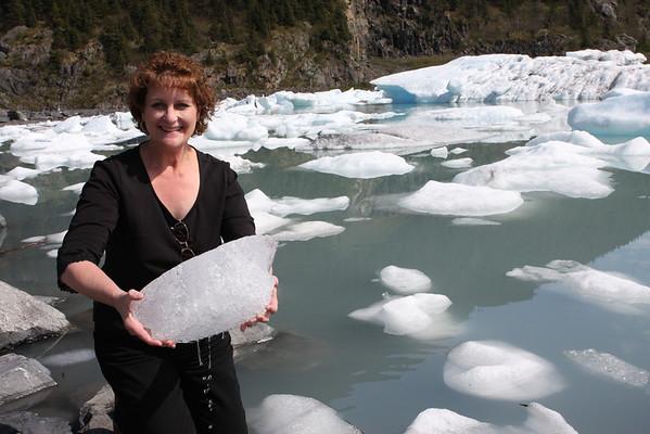 Iceberg from Portage Glacier Lake.