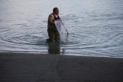 Hooligan Fishing along Seward Highway.