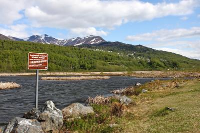 Along Seward Highway near Anchorage, AK.
