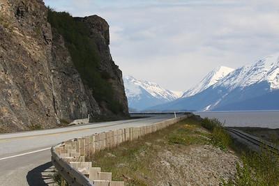 Seward Highway near Anchorage.