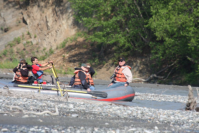 This was a fantastic rafting experience to be so close to the water ad the wildlife.