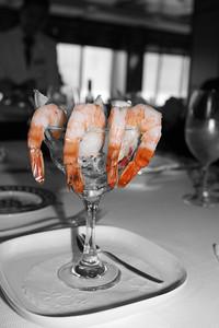 Jumbo Shrimp coctails every night.