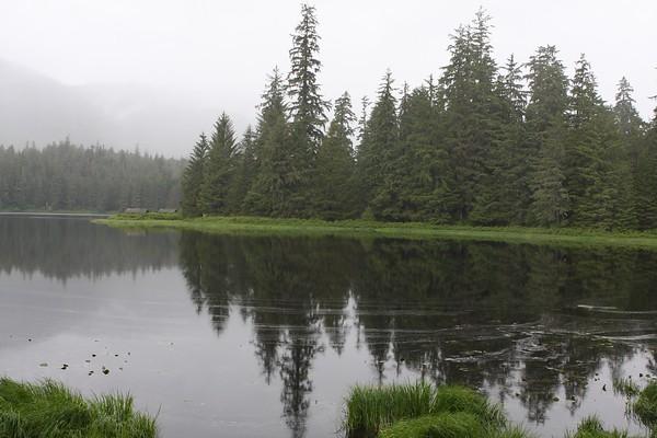 Lake at Ward Cove - Ketchikan Alaska