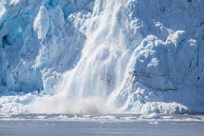 Surprise Glacier Caving.