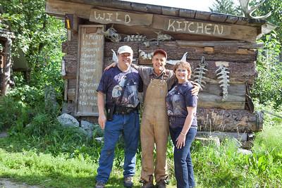 Gary's and Carol with Steve Kroschel.