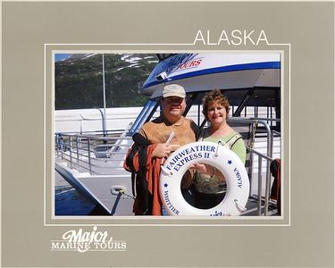 We enjoy the Surprise Glacier Day Cruise.