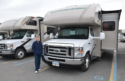 We took a taxi to the place from whom we were renting our RV.  As promised, the had the RV ready and waiting for us to spend the night in their parking lot.