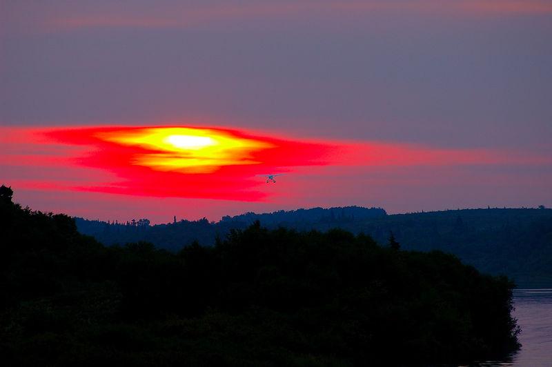 Wild Fire Sunrise