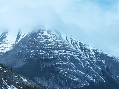 Part of the Cassair Mountain range.