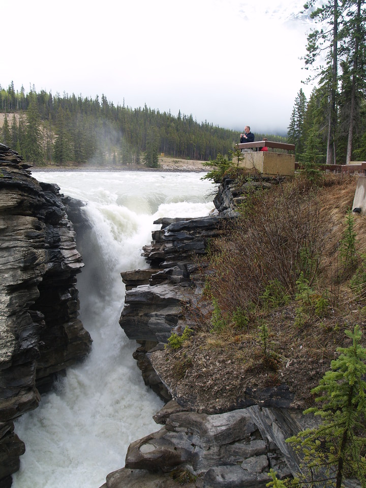 Athabasca Falls, Jasper National Park, Alberta