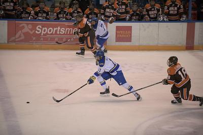 11; Alec Hajdukovich; Jr.; RW; Fairbanks, AK / Fairbanks (NAHL); 7; Josh Erickson; So.; LW; Roseau, MN / Sioux City (USHL)