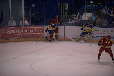 7; Josh Erickson; So.; LW; Roseau, MN / Sioux City (USHL); 11; Alec Hajdukovich; Jr.; RW; Fairbanks, AK / Fairbanks (NAHL)