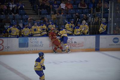 7; Josh Erickson; So.; LW; Roseau, MN / Sioux City (USHL); 25; Nolan Youngmun; Sr.; LW; Anchorage, AK / Sioux Falls (USHL)