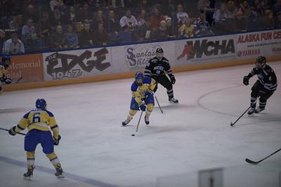 6; Zach Frye; Fr.; D; Spokane, WA / Lincoln (USHL); 11; Alec Hajdukovich; Jr.; RW; Fairbanks, AK / Fairbanks (NAHL)