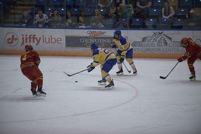 25; Nolan Youngmun; Sr.; LW; Anchorage, AK / Sioux Falls (USHL); 24; Nolan Huysmans; Jr.; RW; Ponoka, AB / Spruce Grove (AJHL)