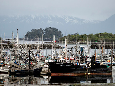 Sitka Harbor, Mt. Edgecumbe