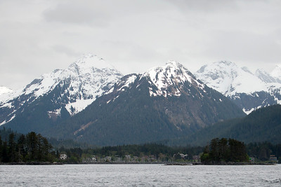 Sitka, the fourth largest city in Alaska, population 8,835.
