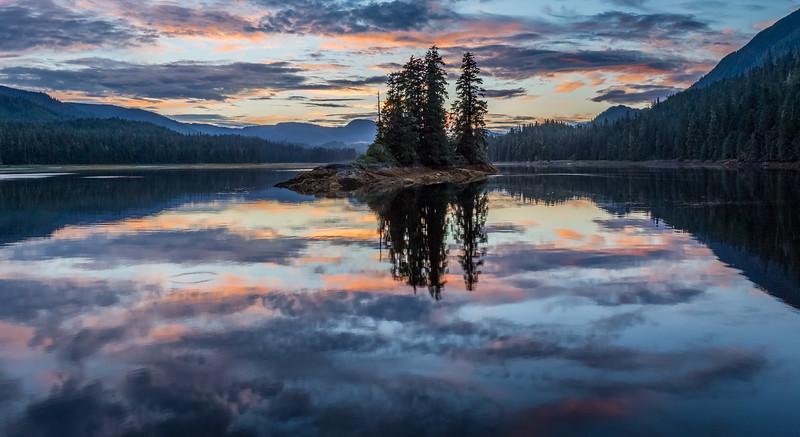 Secret Inlet Sunset II