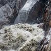 Torrential glacial melt