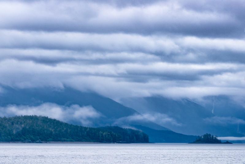 Alaska Inside Passage, probably Tracy Arm